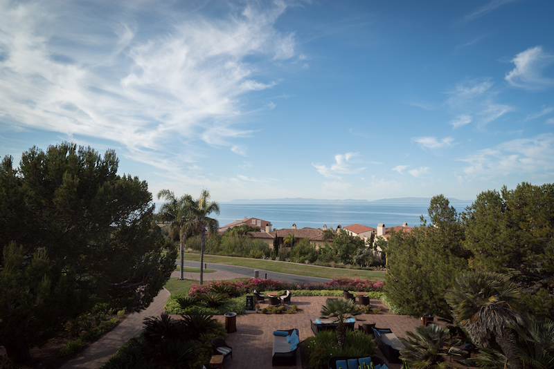 The view from the terrace at Terranea Resort. Photo by Miki & Sonja Photography